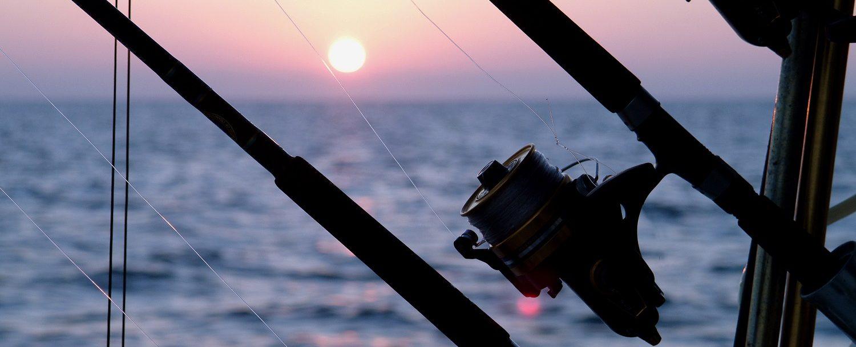 Sunrise while heading out fishing