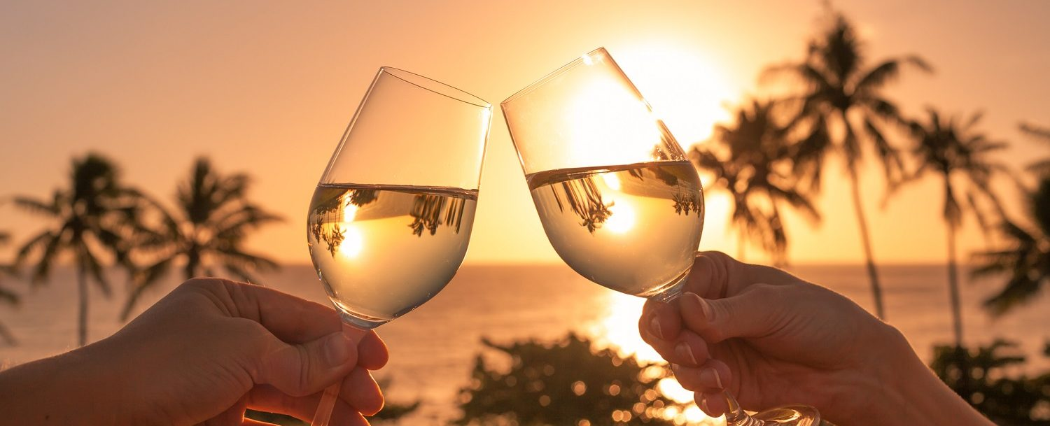 Enjoy a glass of wine overlooking the water at the 30A Wine Festival