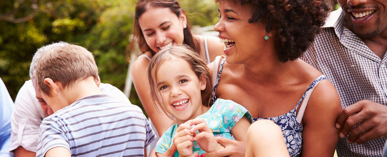 Family having fun in the park | Sandestin Family Activities